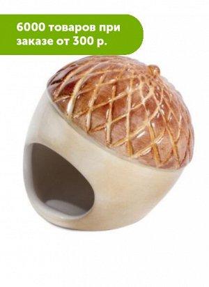 Домик для мелких животных керамический Желудь 90*90*90мм, Triol