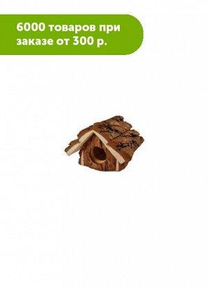 Домик для грызунов из неокоренного дерева Избушка 12*16,5