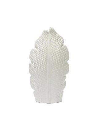 Ваза Drem Floox, 15х6,5х27,5 см, цв.белый, керамика