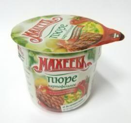 Махеев Пюре карт 40г стакан говядина с зеленым луком