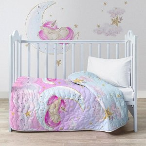 Покрывало стеганое 90х140 Sleep unicorn 16425-1