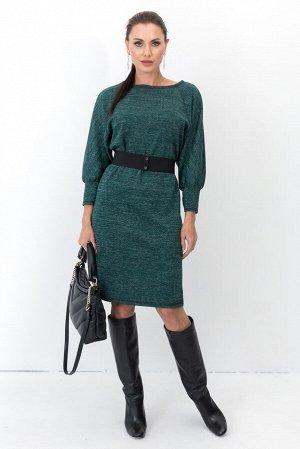 Платье Идеальное платье на каждый день, из мягкого трикотажа. Пояс из резинки в комплекте - отлично подчеркивает талию, а так же может использоваться с другими платьями и блузами. - Трикотажное платье