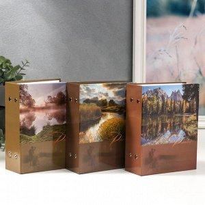 """Фотоальбом на 100 фотографий """"Ландшафт-5"""" 10*15 см МИКС"""