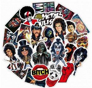 Стикеры для любителей рока