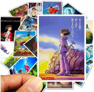 Стикеры Постеры антиме Х.Миядзаки