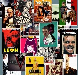 Стикеры Постеры кино