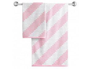 "05.""Aquarelle"" Полотенце махровое ""Сиэтл"" 50х90см, цв.розовый пион, пл.420"