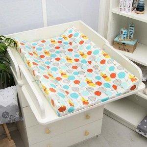 Доска пеленальная «Медвежонок Винни. Чудесный день» для детских кроватей, 78х47 см