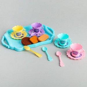 Игровой набор «Сказочное чаепитие», Холодное сердце, цвет МИКС