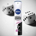 Nivea дезодорант спрей жен. Невидимая защита д/черного и бел Clear 150мл