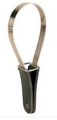 Скребница с кожаной. ручкой 25,5*8,5 см TRIXIE