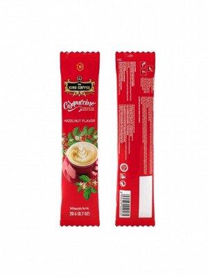 King Coffee Cappuccino лесной орех 1 шт