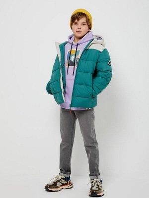 1803071131 (17 темно-зеленый) Куртка для мальчиков