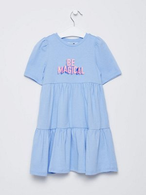 1802040713 (49 небесный) Платье для девочек
