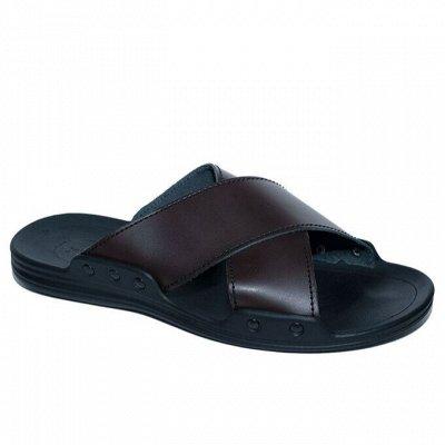 Рос обувь мужская, женская с 32 по 48р натуральная кожа+sale — Кожаные тапки — Для мужчин