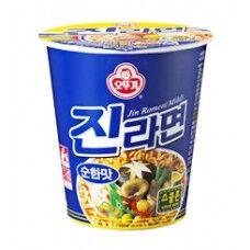 "Лапша б/п ""Jin Ramen"" (Mild) со вкусом грибов 65 г"