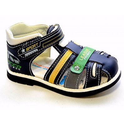 РКБ -9, ликвидация склада обуви! Скидки до 80% — Летняя обувь, сандалии босоножки — ясельная обувь мальчики — Сандалии