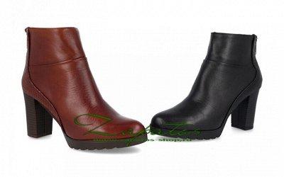 Обувь made in Spain. Удобная и практичная — Ботильоны — Кожаные