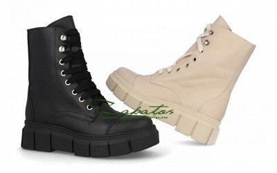 Обувь made in Spain. Удобная и практичная — БОТИНКИ — Кожаные