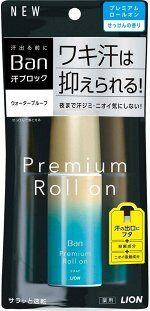 LION Ban Premium Sweat Block - роликовый дезодорант с легким ароматом японского мыла