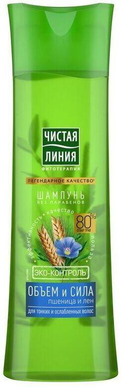 ЧЛ Шампунь 400мл Пшеница Обьем и сила для всех типов волос