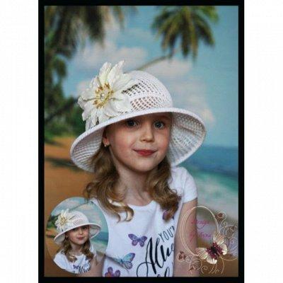 Эксклюзивные шапочки для мам, дочек, сыновей! Ручная работа! — Коллекция весна/лето — Головные уборы