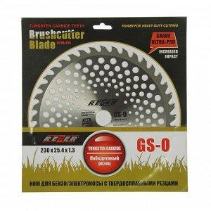Диск для триммера Rezer GS-O Ultra-Pro, 230x25.4 мм, 40 зубьев, толщина 1.3 мм