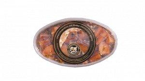 Кусочки гольца подкопченные в масле с пряностями «рубиновая» 1/220 гр