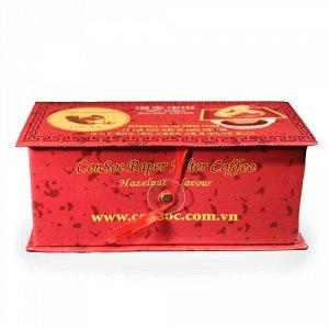 """Кофе натуральный жареный молотый """"Белочка"""" Арабика со вкусом лесного ореха 10 пак.*16 гр Т.М. «Con Soc»"""