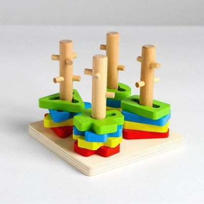 Развивающие игрушки от Симы — Пирамидки — Развивающие игрушки