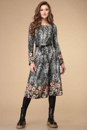 Платье Linia-L Б-1854 мультиколор