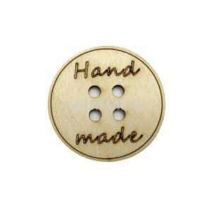 "Заготовка бирка №10 ""Hand made"" 5 см (51070)"