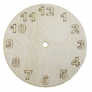 """Заготовка часы """"Часы"""" 15 см (51034)"""