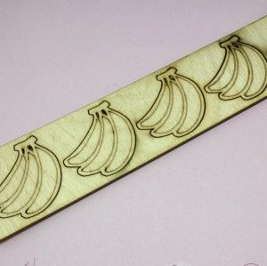 """Заготовка из фанеры """"Бананы"""" 5 см (8010)"""