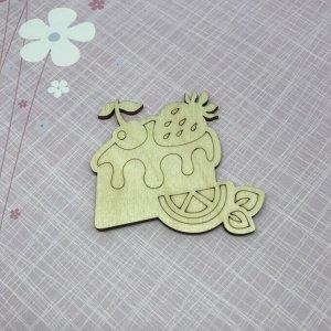 """Фигурка для раскраски """"Кусочек торта"""" (160656)"""