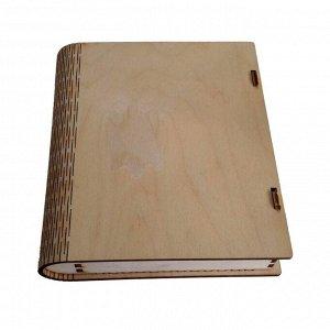 """Заготовка для декорирования """"Обложка книги, бол."""" 15х25х0.3 см (ДЕК 024 /27007748162)"""