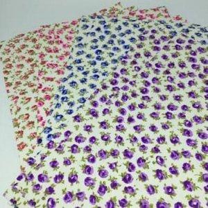 Ткань самоклеющаяся 100% хлопок (10 листов) 21-30