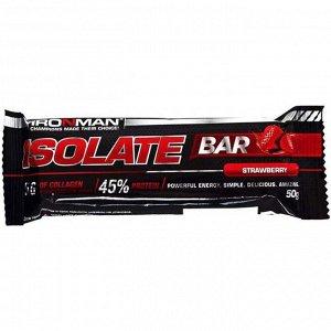 Ironman isolate bar батончик, 50 гр