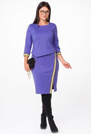 Платье Melissena 1014 лиловый