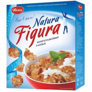 Увелка хлопья многозлаков. с фруктозой NATURA-FIGURA 250 гр
