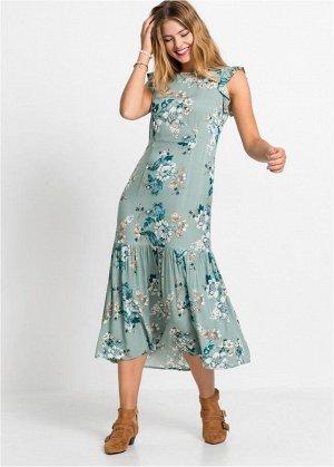 Платье миди с цвет