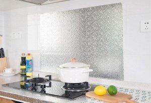 Самоклеющаяся пленка с алюминиевым покрытием / 40 см x 2 м