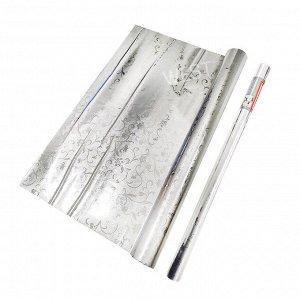 Самоклеющаяся пленка с алюминиевым покрытием / 60 см x 3 м