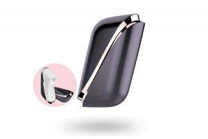 Вакуум-волновой бесконтактный стимулятор клитора satisfyer pro traveler, abs пластик+силикон, черный
