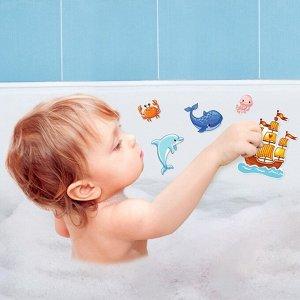Веселые стикеры для ванной