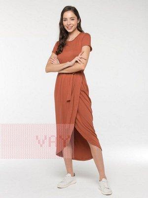 Платье женское 211-3623 0061 коньячный