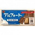 """Печенье с насыщенным молочным шоколадом  """"ALFORT MINI CHOCOLATE RICH MILK"""", коробка, 55гр"""