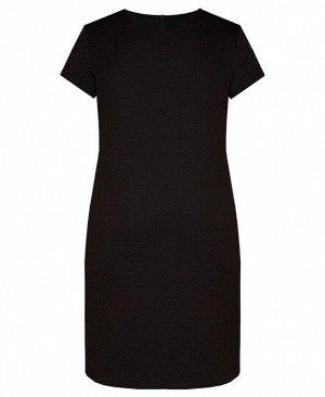 Школьное чёрное платье для девочки Цвет: черный