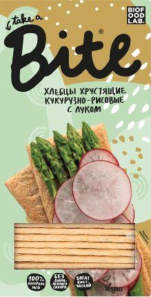 "Хлебцы BITE ""БАЙТ"" Кукурузно-Рисовые с луком"