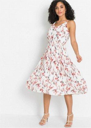 Платье плиссирован